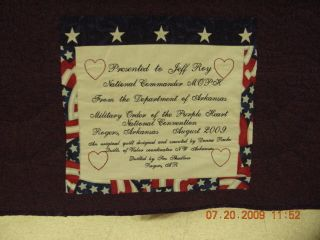 The Design Wall: Spotlight on Donna Roche, Quilts of Valor Coordinator ...